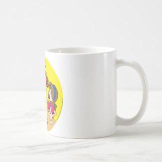 La preparación apesta (el chica) taza