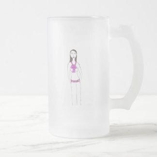 La preparación espeluznante taza de cristal