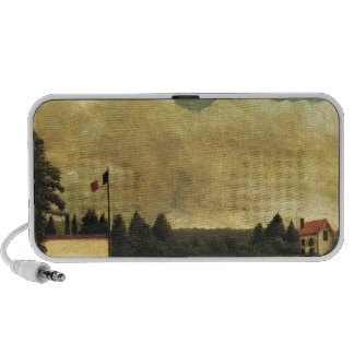La presa de Henri Rousseau iPod Altavoces