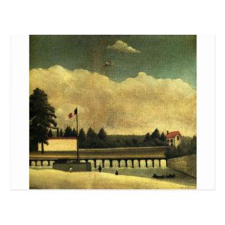 La presa de Henri Rousseau Postal