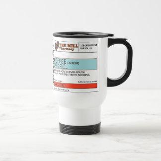 La prescripción original -15 onza del café. Taza