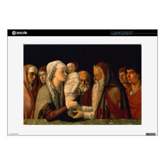 La presentación de Jesús en el templo Calcomanías Para Portátiles