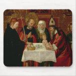 La presentación de la circuncisión en el templo tapete de raton
