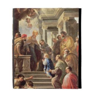 La presentación de la Virgen en el templo (aceite