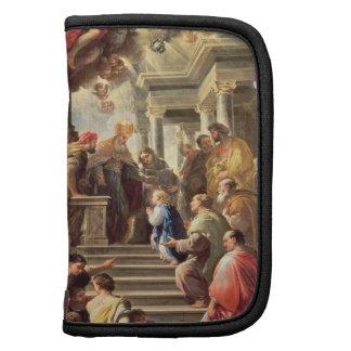 La presentación de la Virgen en el templo (aceite Planificadores