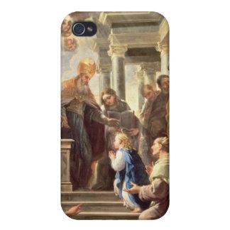 La presentación de la Virgen en el templo (aceite iPhone 4 Coberturas