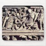 La presentación de un bárbaro a un romano alfombrilla de ratón