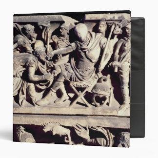 La presentación de un bárbaro a un romano