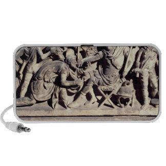 La presentación de un bárbaro a un romano iPhone altavoz