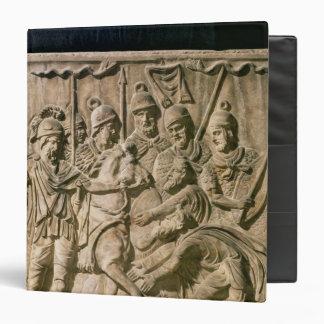 La presentación de un bárbaro a una tropa romana