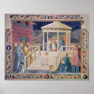 La presentación del Virgen María bendecido Posters