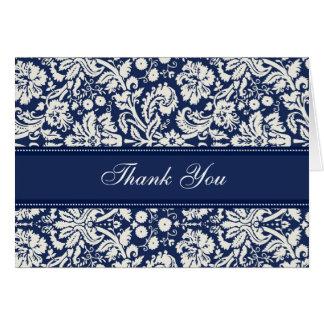 La presentadora azul de la fiesta de bienvenida al tarjeta de felicitación