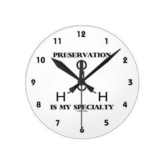 La preservación es mi molécula del formaldehído de reloj