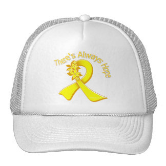 La prevención del suicidio allí es siempre esperan gorras