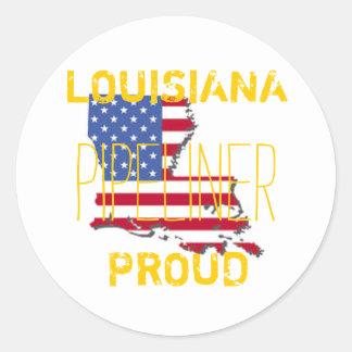 LA Pride Classic Round Sticker