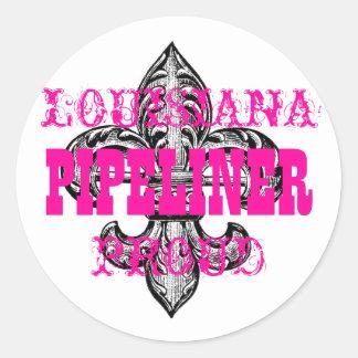 LA Pride Woman Classic Round Sticker