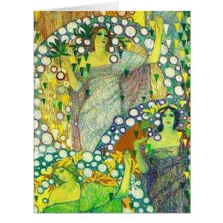La Primavera 1914 Card