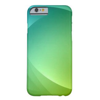 La primavera abstracta enciende el caso del iPhone Funda De iPhone 6 Barely There