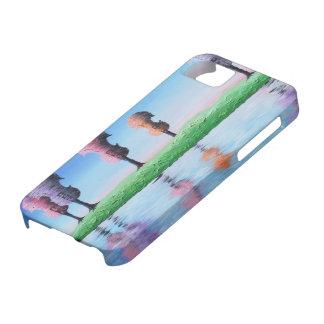 La primavera ata la caja de la casamata del iPhone Funda Para iPhone 5 Barely There