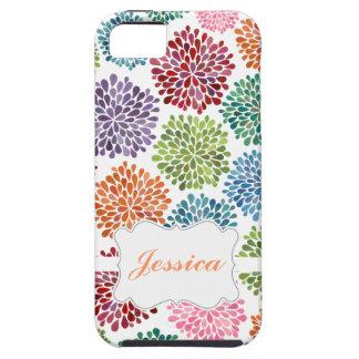 La primavera brillante hermosa florece la caja de iPhone 5 fundas
