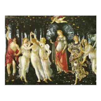 La Primavera by Sandro Botticelli Postcard