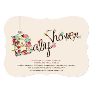 La primavera caprichosa de B florece la fiesta de Invitación Personalizada
