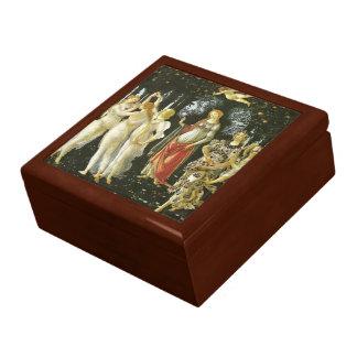 La Primavera de Sandro Botticelli Joyero Cuadrado Grande