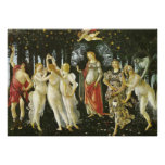 La Primavera de Sandro Botticelli Posters