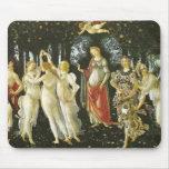 La Primavera de Sandro Botticelli Tapetes De Ratón