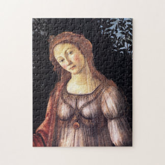 La Primavera detalladamente por Sandro Botticelli Puzzle
