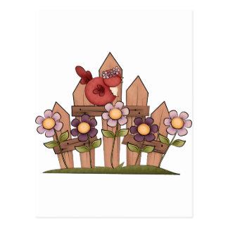 La primavera está aquí tarjeta postal