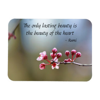 La primavera florece belleza imanes flexibles