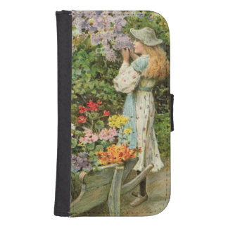 La primavera florece, de las peras Annual, 1902 Fundas Billetera Para Teléfono