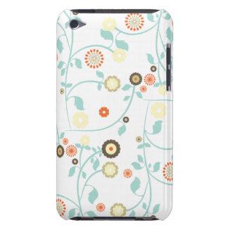 La primavera florece el estampado de flores femeni iPod touch Case-Mate protector