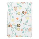 La primavera florece el estampado de flores femeni iPad mini carcasas