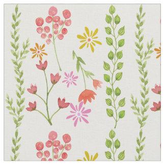 La primavera florece la materia textil telas