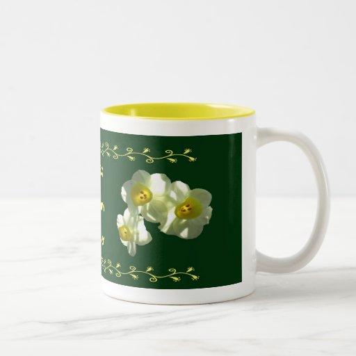 """La primavera florece la taza de la """"mejor mamá"""