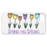 La primavera ha saltado iPhone 5 carcasa