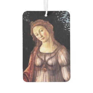 La Primavera in detail by Sandro Botticelli