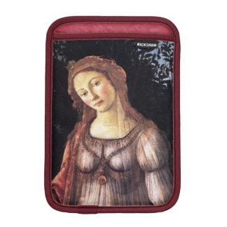 La Primavera in detail by Sandro Botticelli iPad Mini Sleeves