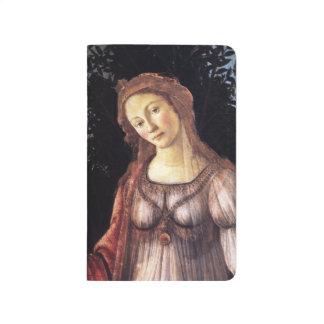 La Primavera in detail by Sandro Botticelli Journals