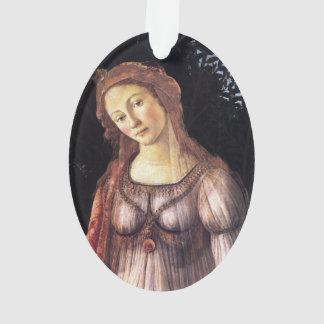 La Primavera in detail by Sandro Botticelli Ornament