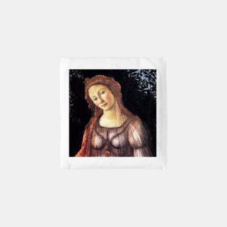 La Primavera in detail by Sandro Botticelli Reusable Bag