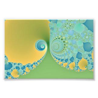 La primavera llega - arte del fractal fotografías