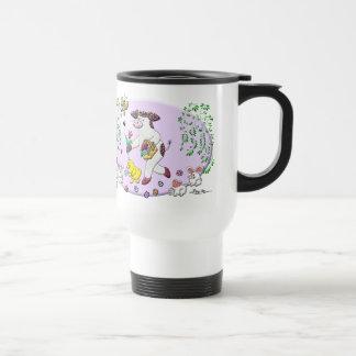 La primavera maravillosa del acebo taza