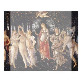 La Primavera (primavera) por Sandro Botticelli Tarjetas Publicitarias