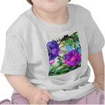 La primavera púrpura florece CricketDiane Camiseta
