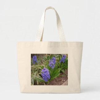 La primavera púrpura florece el arte y Photog de C Bolsa De Mano