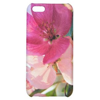La primavera rosada florece caso del iPhone 4G