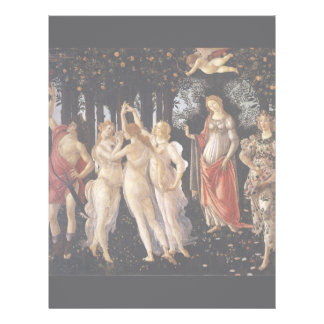 "La Primavera (Spring) by Sandro Botticelli 8.5"" X 11"" Flyer"